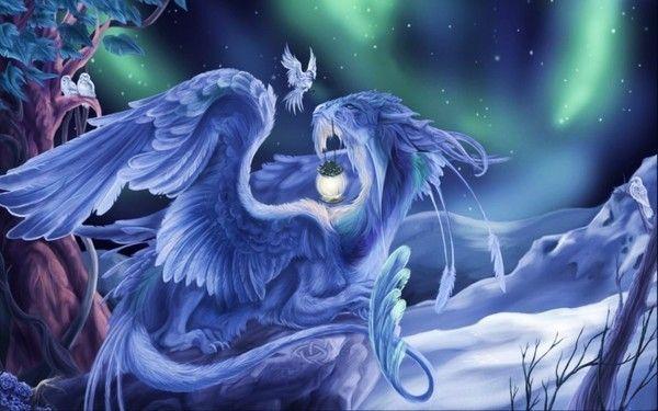 Le dragon gardien des nuits...
