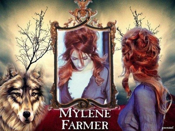 Mylène face au miroir du loup...
