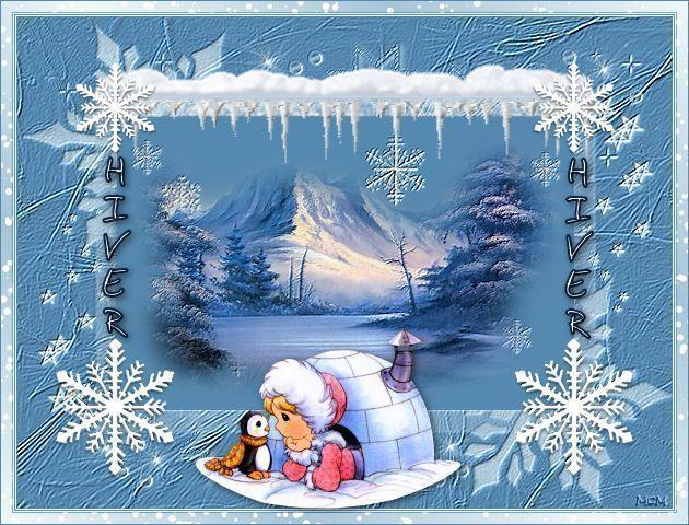 Gifs animes hiver page 17 for Dans mon igloo